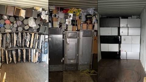 パソコン等オフィス家具や冷蔵庫の不用品買取状況