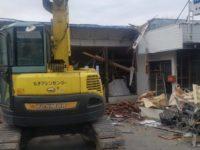 長野県安曇野市明科の店舗解体工事をご依頼いただきました!