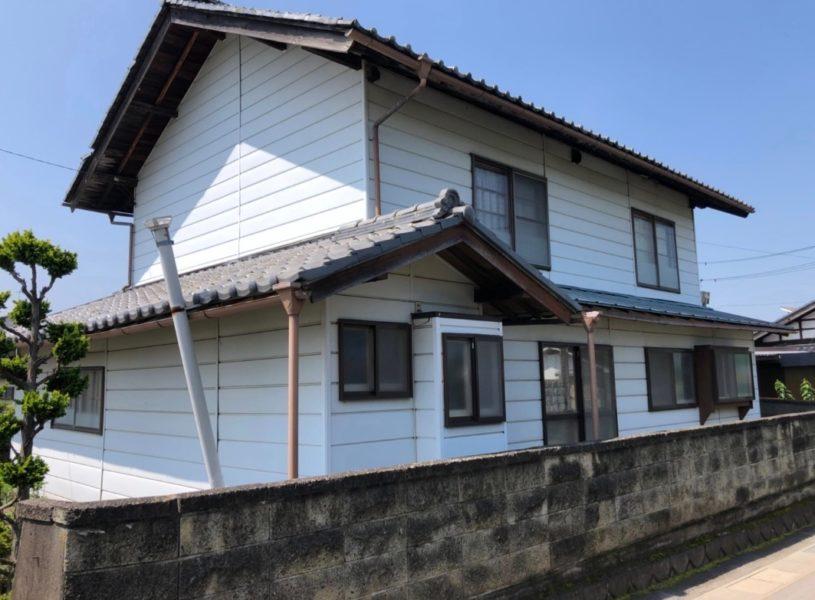 長野県佐久市の木造二階建て一軒家の解体工事をご依頼いただきました