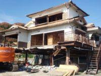 長野県飯田市の混構造3階建ての解体工事をご依頼いただきました!
