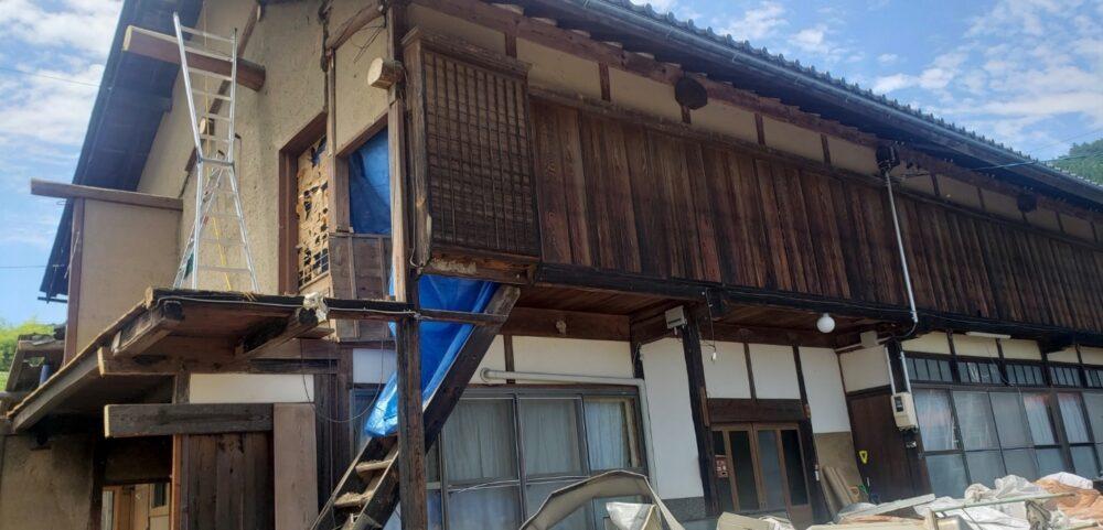 長野県小県郡青木村の木造住宅解体工事をご依頼いただきました